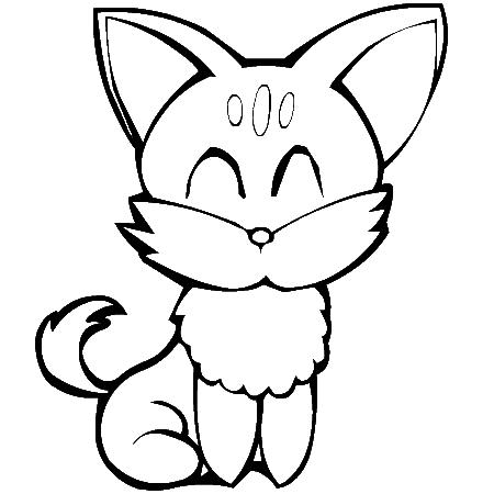 Coloriage page 9 - Image de chat a imprimer ...