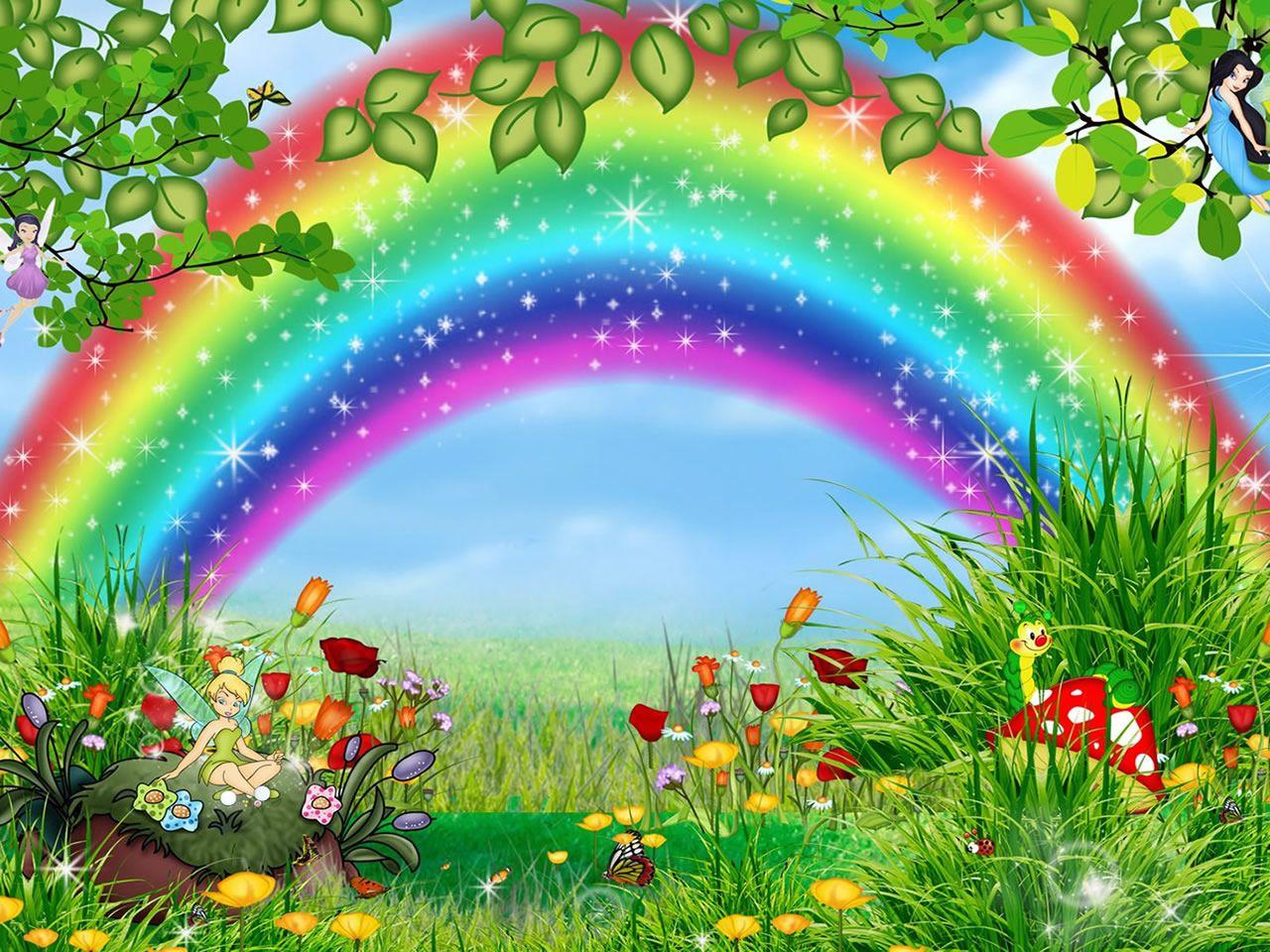La couleur des mots l arc en ciel for 3d jardin torrent